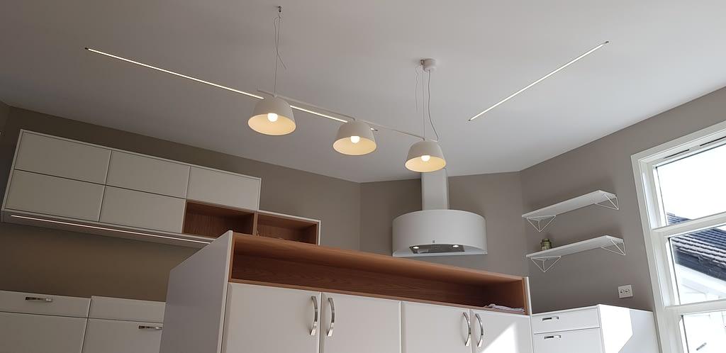 Belysning på kjøkken